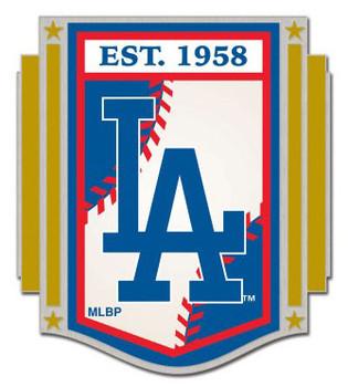 Los Angeles Dodgers Established 1958 Banner Pin