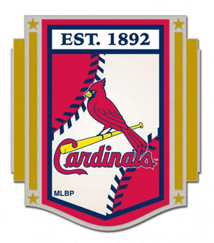 St. Louis Cardinals Established 1892 Pin
