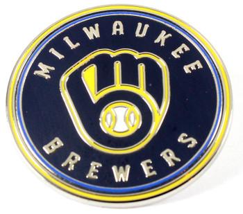 Milwaukee Brewers Circle Logo Pin