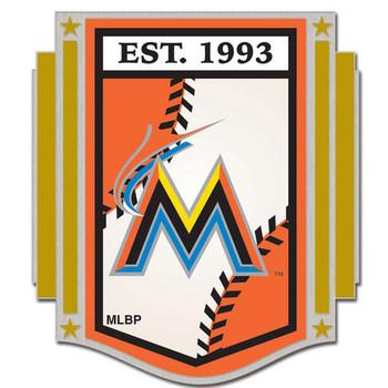 Miami Marlins Established 1993 Pin