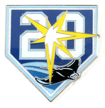 Tampa Bay Rays 20th Anniversary Pin