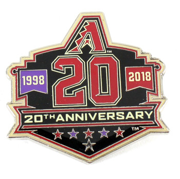 Arizona Diamondbacks 20th Anniversary Pin - Limited Edition 500