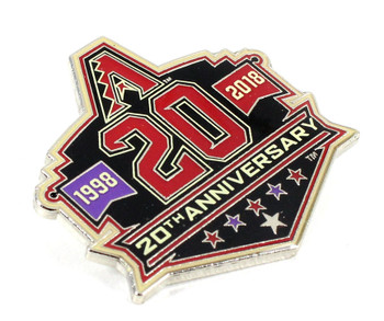 Arizona Diamondbacks 20th Anniversary Pin - Limited Edition 500
