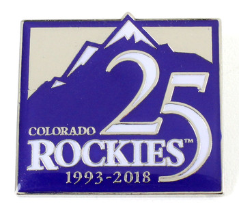 Colorado Rockies 25th Anniversary Pin - Limited Edition 500