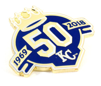 Kansas City Royals 50th Anniversary Pin - Limited Edition 500