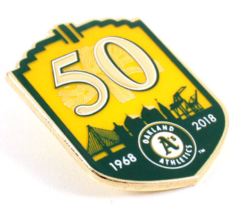 Oakland A's 50th Anniversary Pin - Limited Edition 500