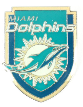 Miami Dolphins Crest Pin