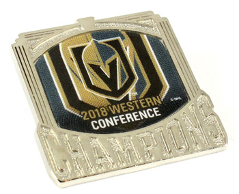 Vegas Golden Knights 2018 Western Conference Champions Pin