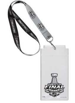 2018 Stanley Cup Lanyard w/ Ticket Holder