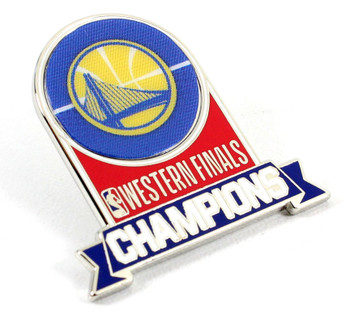 Golden State Warriors 2018 Western Conference Champs Pin