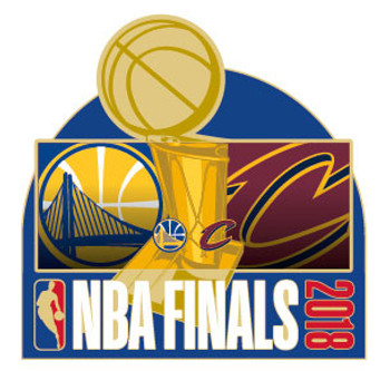 2018 NBA Finals Dueling Pin - Warriors vs. Cavaliers