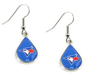 Toronto Blue Jays Tear Drop Earrings