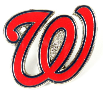 Washington Nationals Logo Pin - W