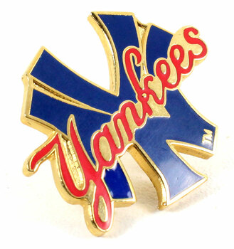 "New York Yankees ""NY-Yankees"" Logo Pin"
