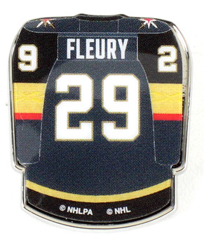 Marc-André Fleury Vegas Knights Jersey Pin