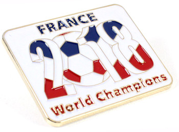 France 2018 World Cup Champions Pin