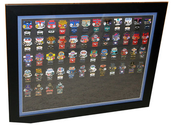 "Super Bowl Oversized Commemorative Framed Pin Set - 36"" x 29"""