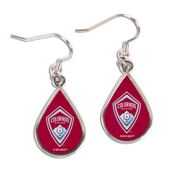Colorado Rapids Logo Earrings