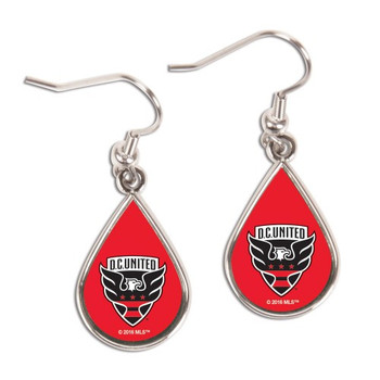 D.C. United Logo Earrings