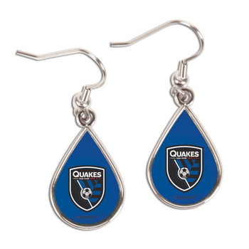 San Jose Earthquakes Earrings