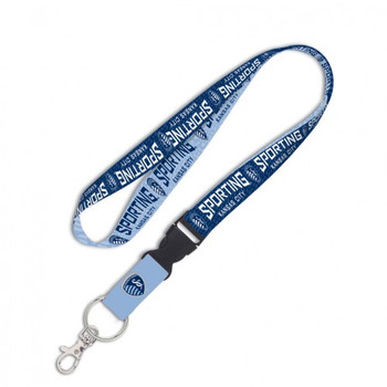 Sporting Kansas City FC Detachable Reversible Lanyard
