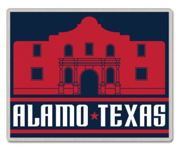 Texas - The Alamo Pin