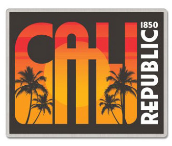 Cali Republic Lapel Pin