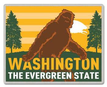 Washington Lapel Pin - Bigfoot