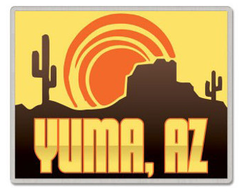 Yuma Arizona Pin