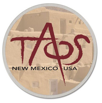 Taos New Mexico Pin
