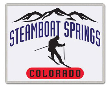 Steamboat Springs Colorado Pin