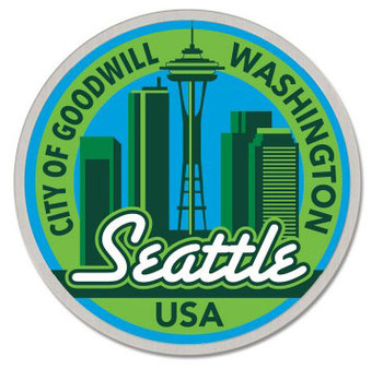 Seattle Washington Pin - City of Good Will