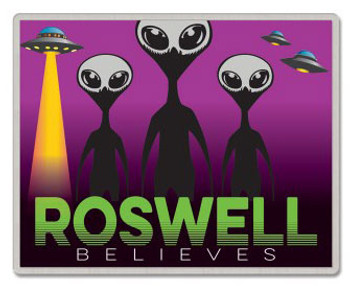 Roswell New Mexico Believes Pin