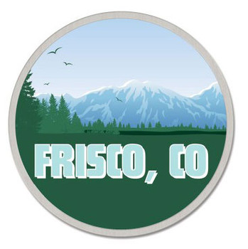 Frisco Colorado Pin