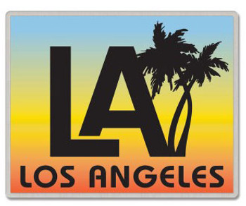Los Angeles California Lapel Pin