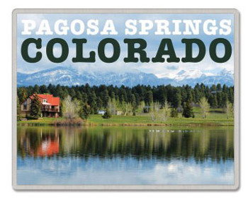 Pagosa Springs Colorado Pin