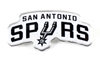 San Antonio Spurs Logo Pin - White
