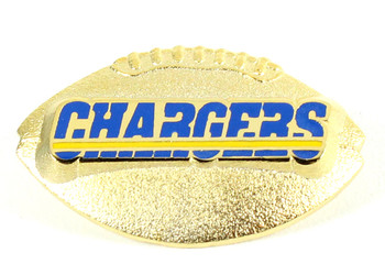 San Diego Chargers Sculptured Football Pin