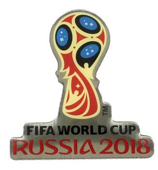 2018 FIFA World Cup Soccer Logo Pin #2
