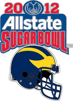 Michigan Wolverines 2012 Allstate Sugar Bowl Pin