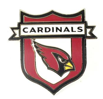 Arizona Cardinals Crest Pin