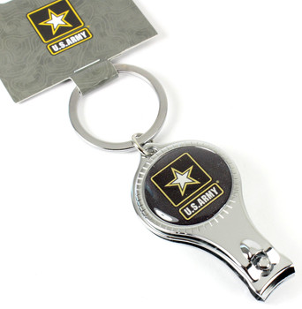 Army Multi Function Key Chain (Nail Clipper, Bottle Opener, Nail File)