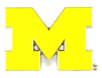 Michigan Wolverines Logo Pin