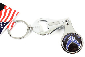 Air Force Multi Function Key Chain (Nail Clipper, Bottle Opener, Nail File)