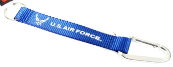 Air Force Carabiner Key Chain