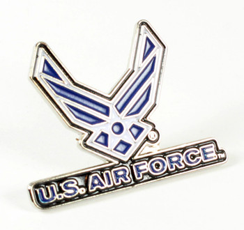 Air Force Logo Lapel Pin