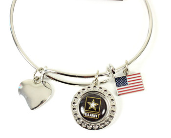 Army Dimple Adjustable Bracelet