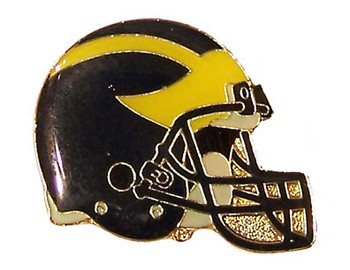Michigan Helmet Pin