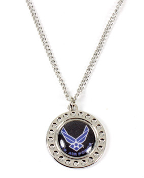 Navy Dimple Necklace