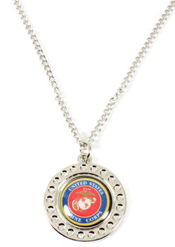 Marines Dimple Necklace